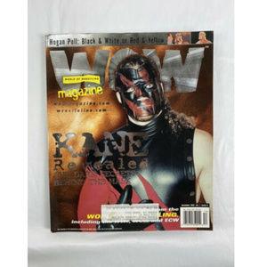 WORLD OF WRESTLING WOW MAGAZINE December 1999 KANE